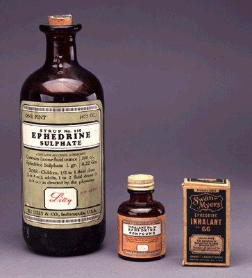 Америка отново ще легализира употребата на Ефедрин в хранителните добавки
