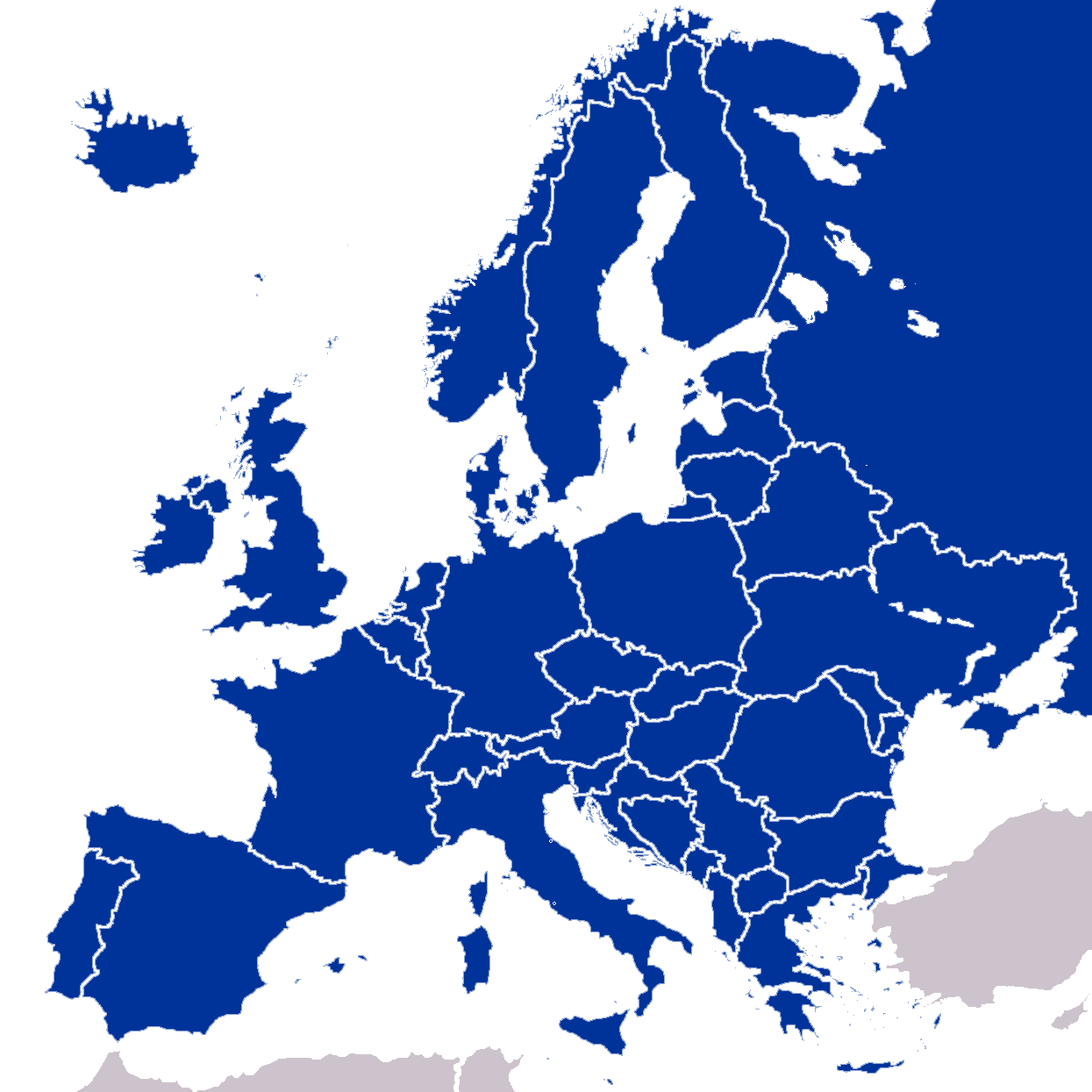 Activity 1: Where are the EU Countries?