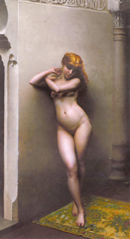 Falero Luis Riccardo La favorite 1880 Oil On Canvas.jpg