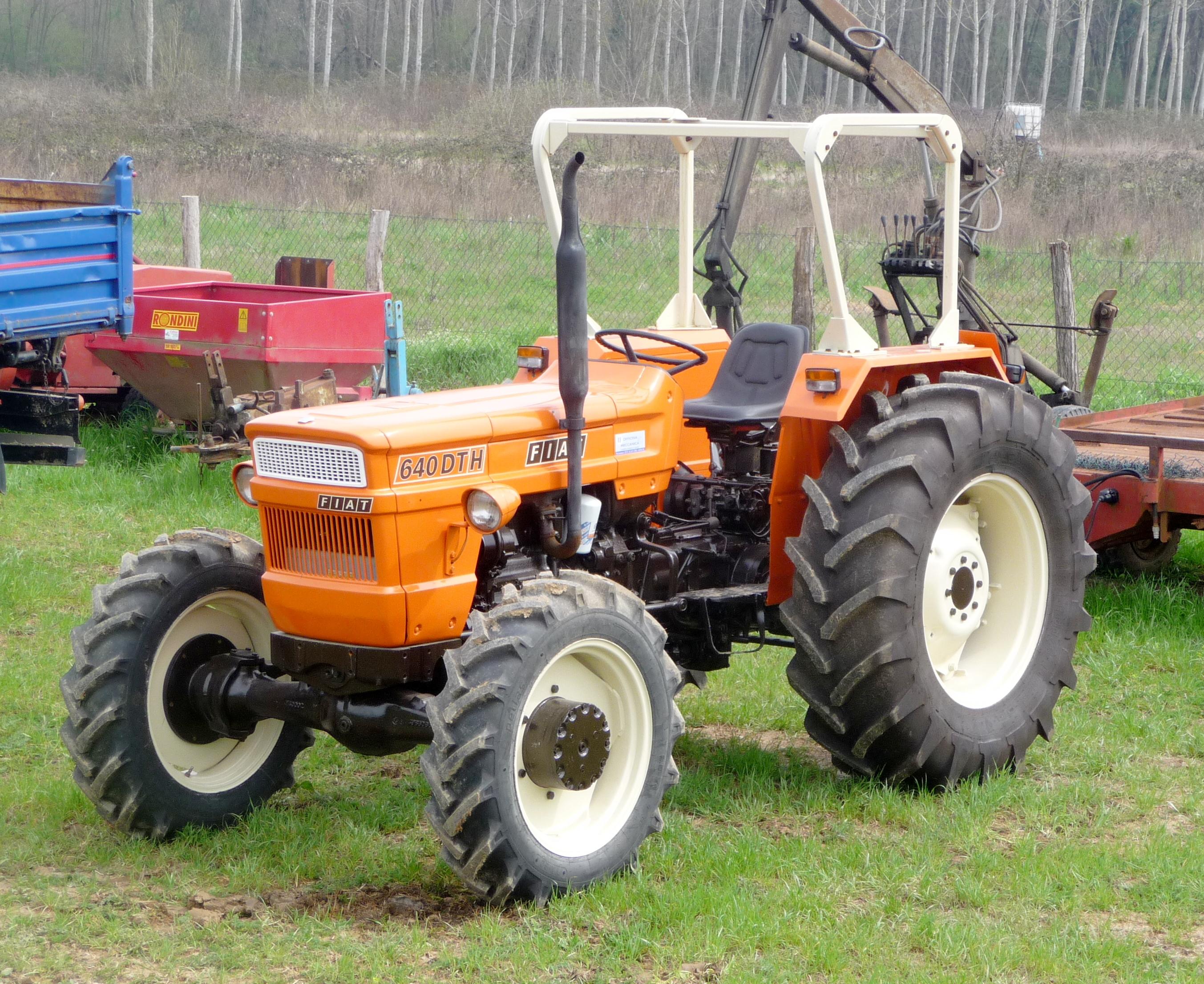 File Fiat 640 Dth Tractor Jpg