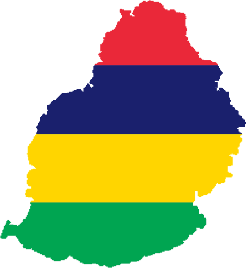 Файл:Flag-map of Mauritius.png