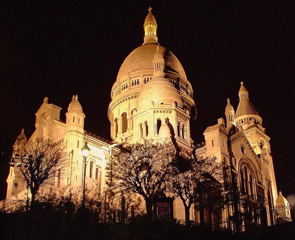 Filefrance Paris Sacré Cœur At Nightjpg Wikimedia