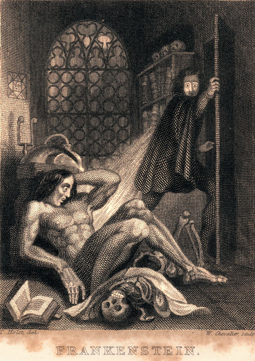 "frankenstein creates a living being who In frankenstein, the creature confronts victor with his own desire for a race of  beings like himself, ""create a female for me with whom i can live."