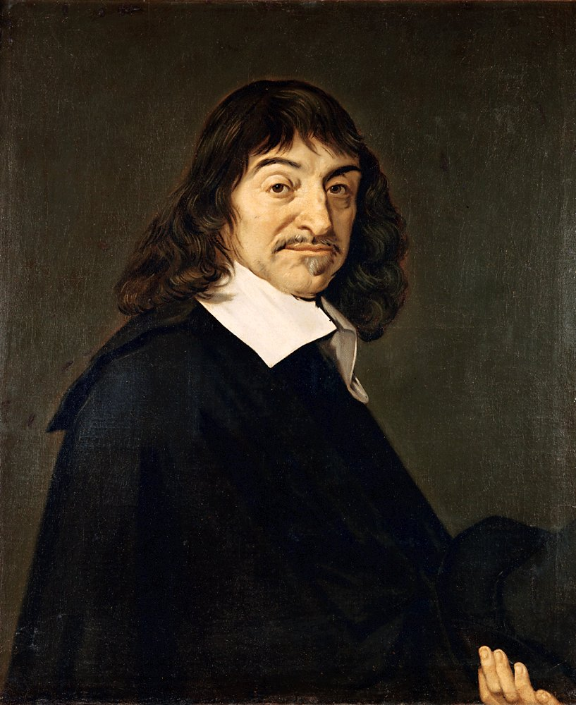 Portrait after [[Frans Hals]]{{refn|Although the uncertain authorship of this most iconic portrait of Descartes was traditionally attributed to Frans Hals, there is no record of their meeting. During the 20th century the assumption was widely challenged.<ref>[[Steven Nadler|Nadler, S.]], ''The Philosopher, The Priest, and The Painter'' (Princeton: [[Princeton University Press]], 2013), [https://books.google.com/books?id=a2yYDwAAQBAJ&lpg=PP1&hl=cs&pg=PA83 p. 83].</ref>|group=n}}