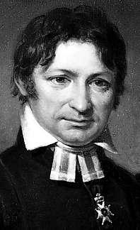 Frans Michael Franzén porträtterad 1823 av Johan Gustaf Sandberg