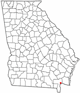Loko di Folkston, Georgia