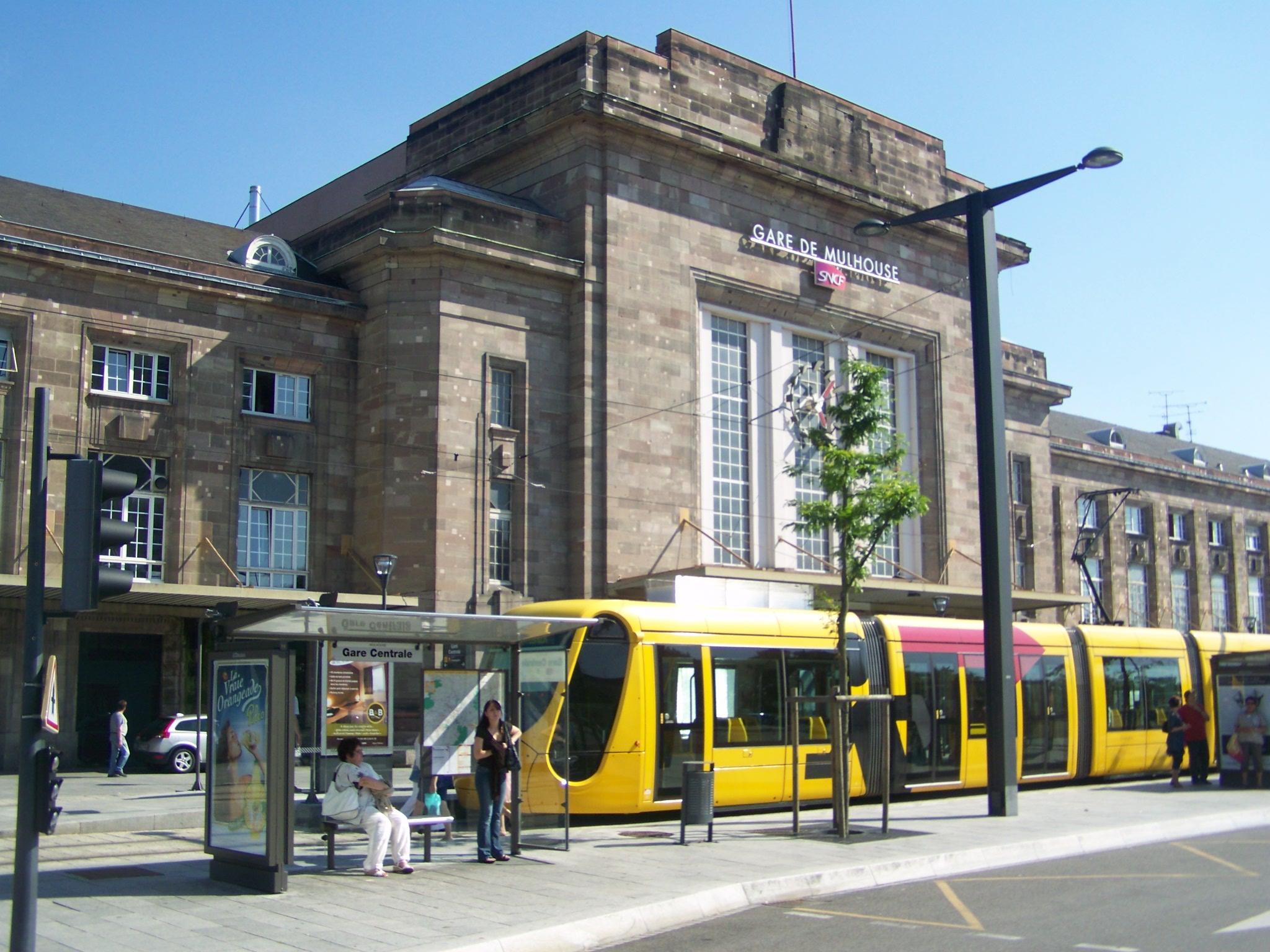Station mulhouse ville wikiwand - Office du tourisme de mulhouse ...