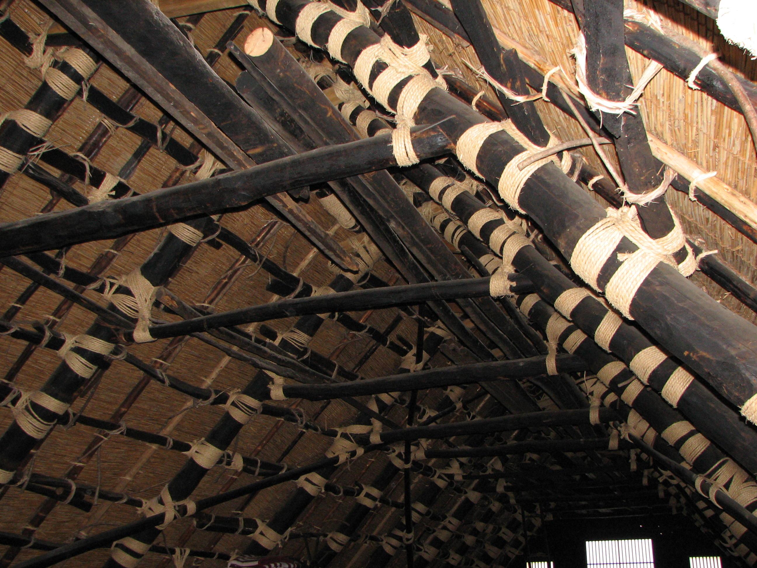 Tradicionalne kuće , jedinstvena gradnja  Gassho-zukuri_farmhouse-03