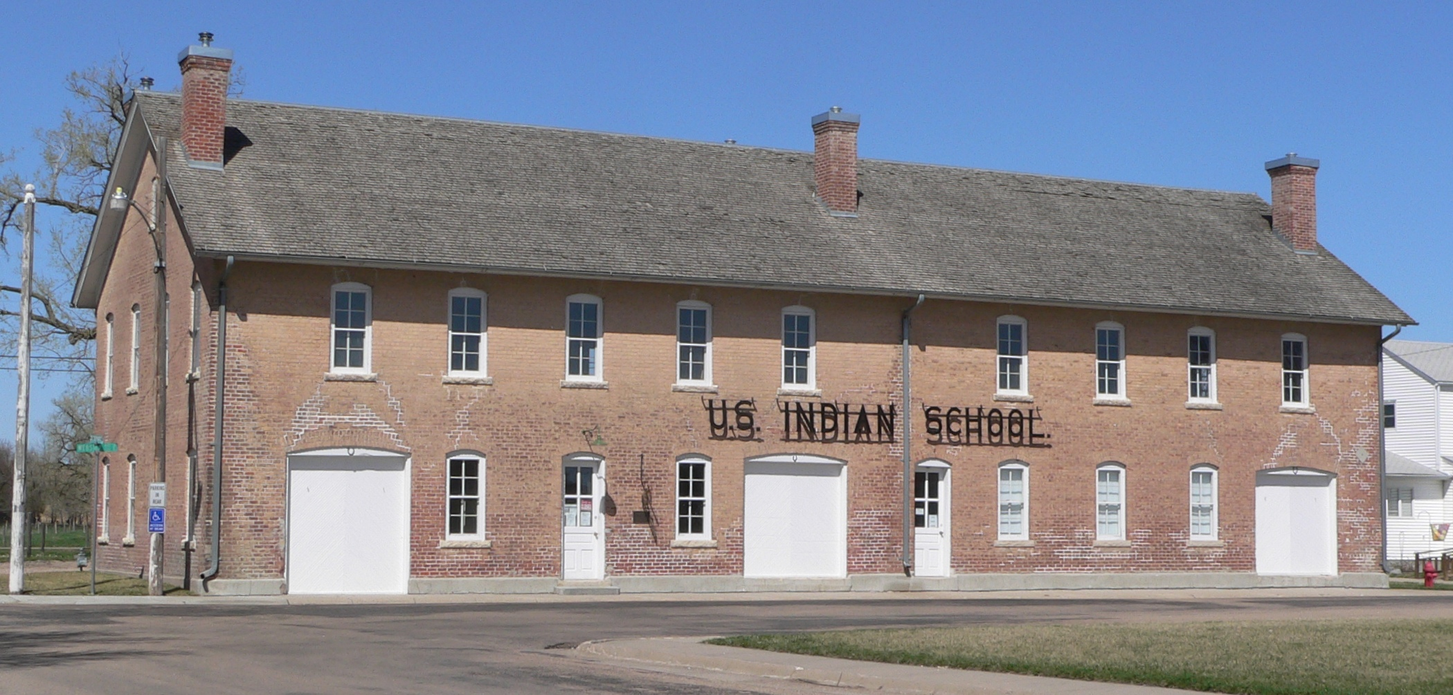 photograph of Genoa U.S. Indian School
