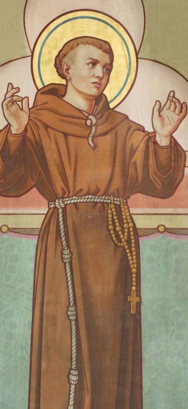 Antonius van Weert. Murmaleri i Maria van Jessekerk i Delft