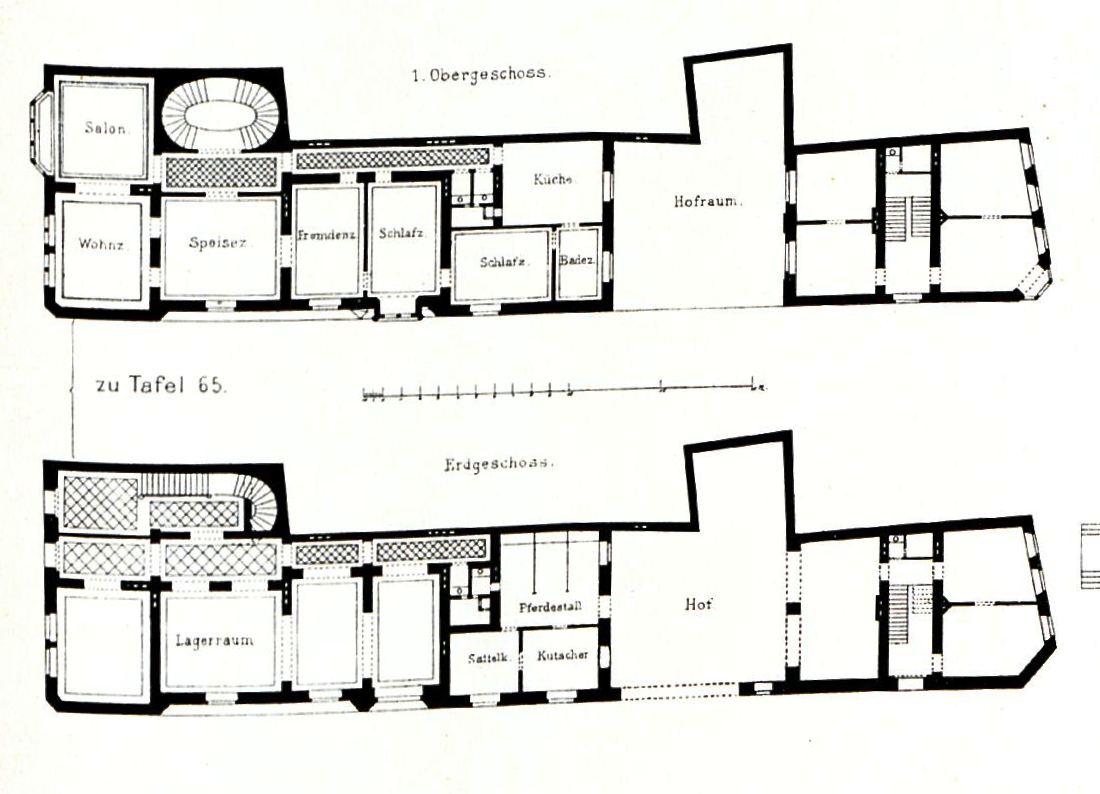 File gotisches wohnhaus am heumarkt in k ln architekt h for Grundriss wohnhaus