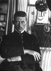 Walter Gropius in divisa nel 1915