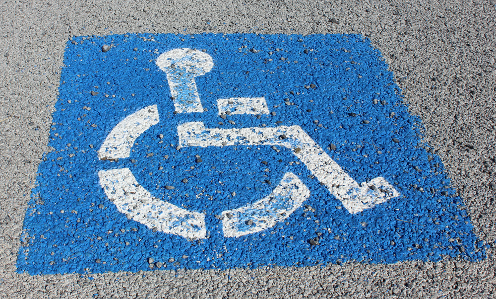 Image result for handicap parking
