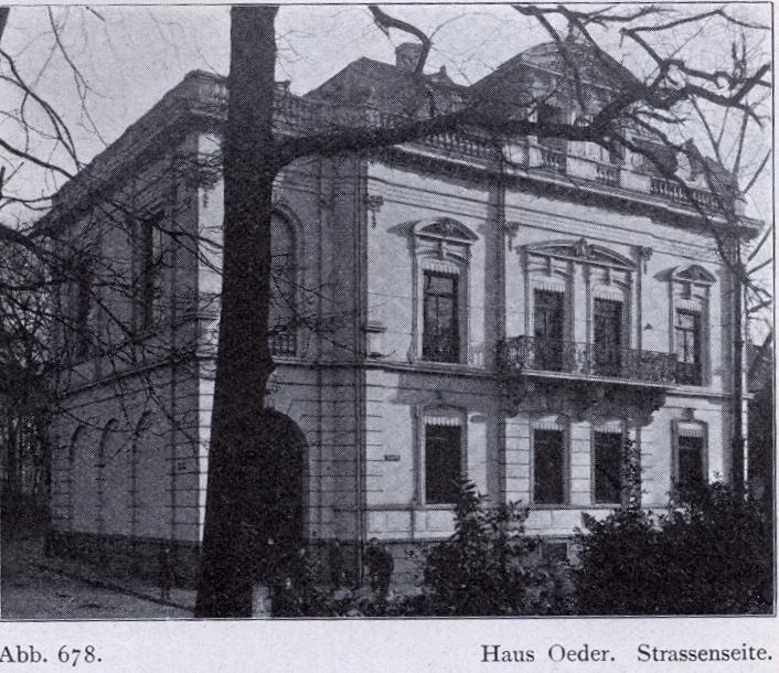 Haus u privatgalerie oeder wikipedia for Literatur innenarchitektur