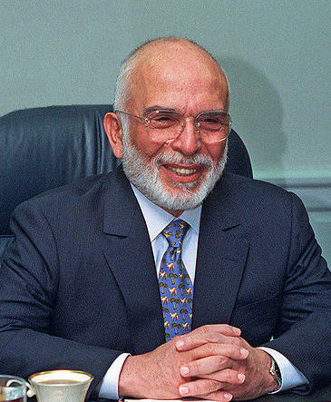 Hussein of Jordan in 1997.jpg