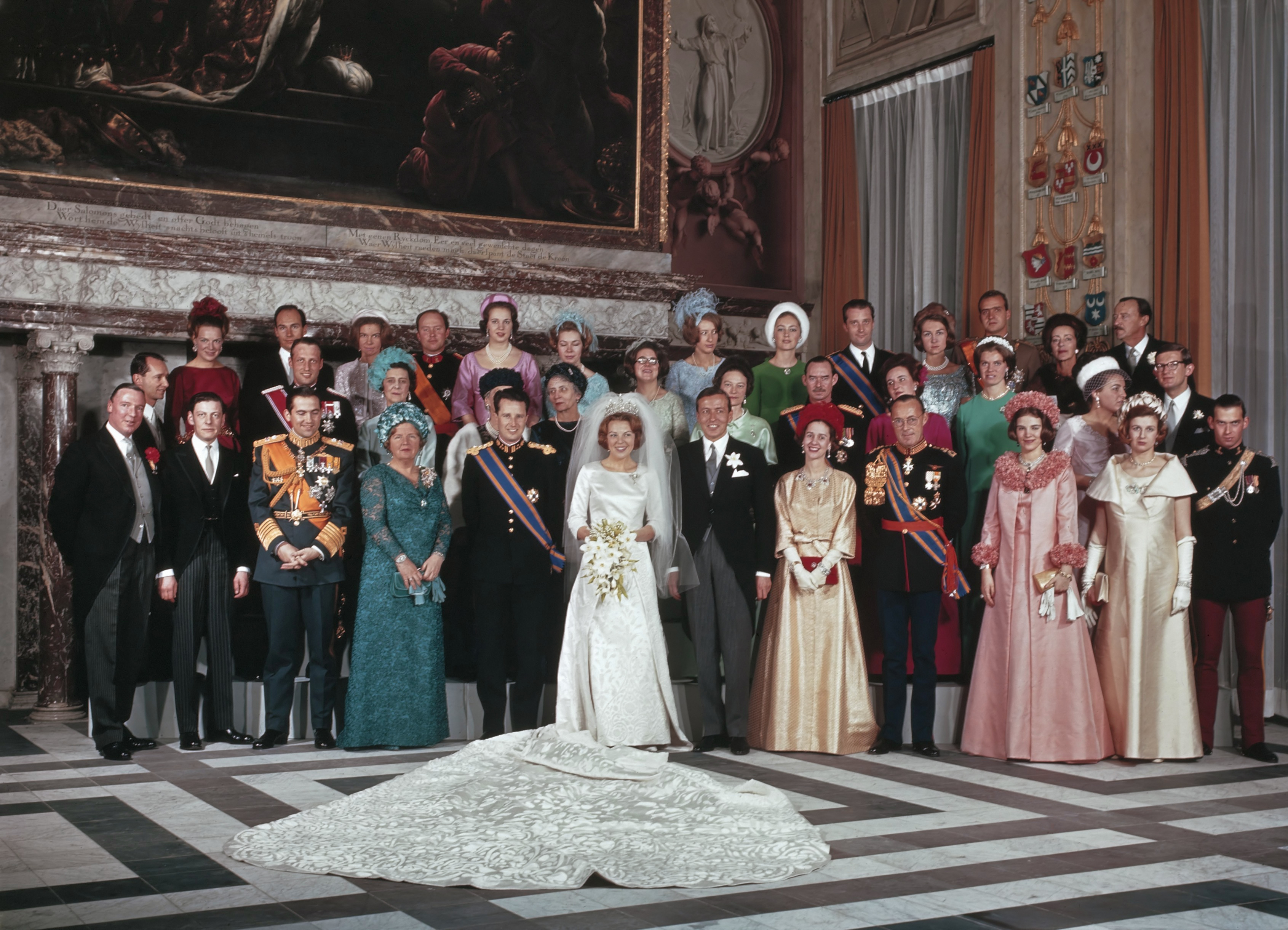 Wedding Of Beatrix And Claus