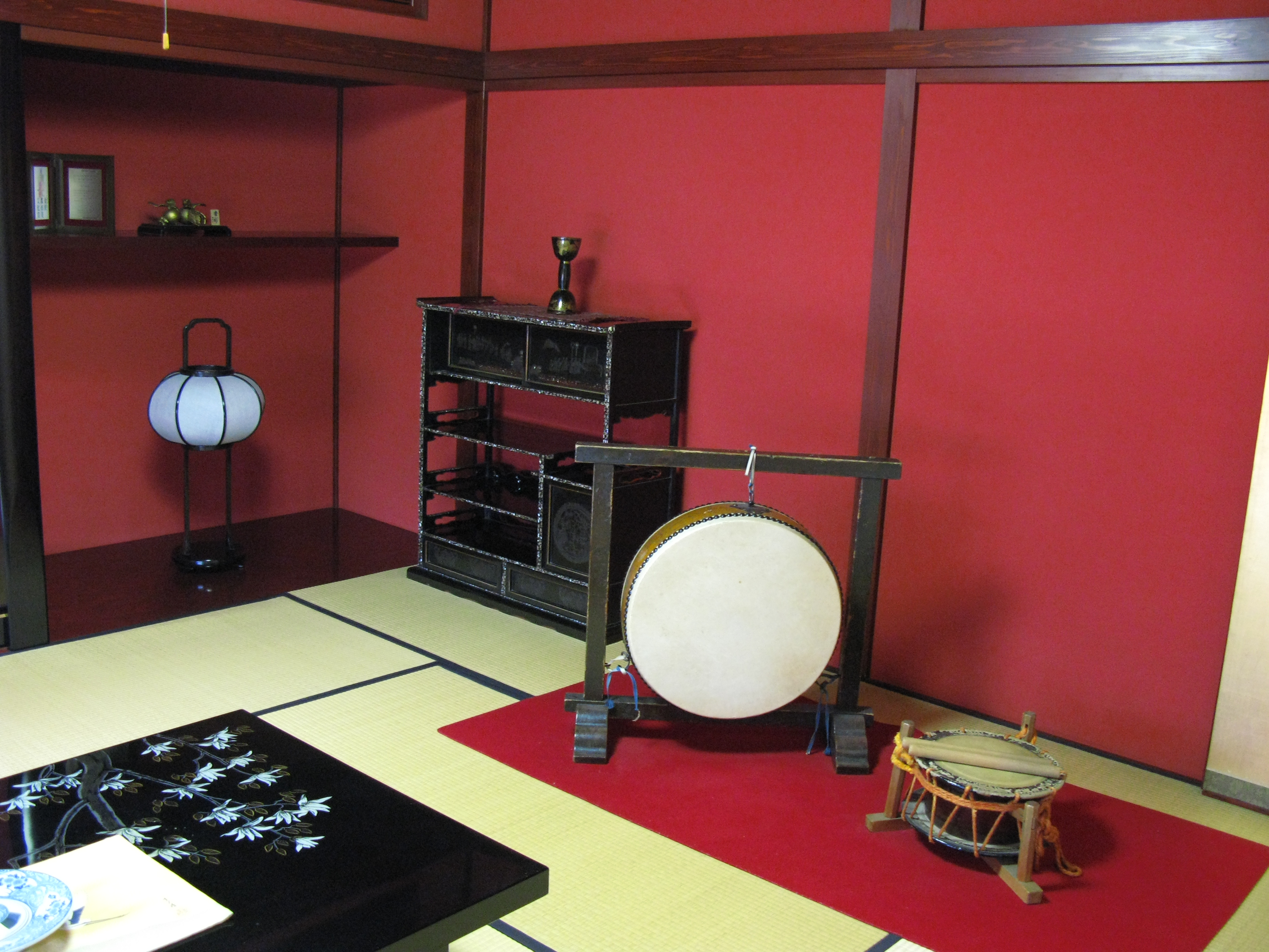 File japanese traditional house interior 2 for Japanese house interior living room