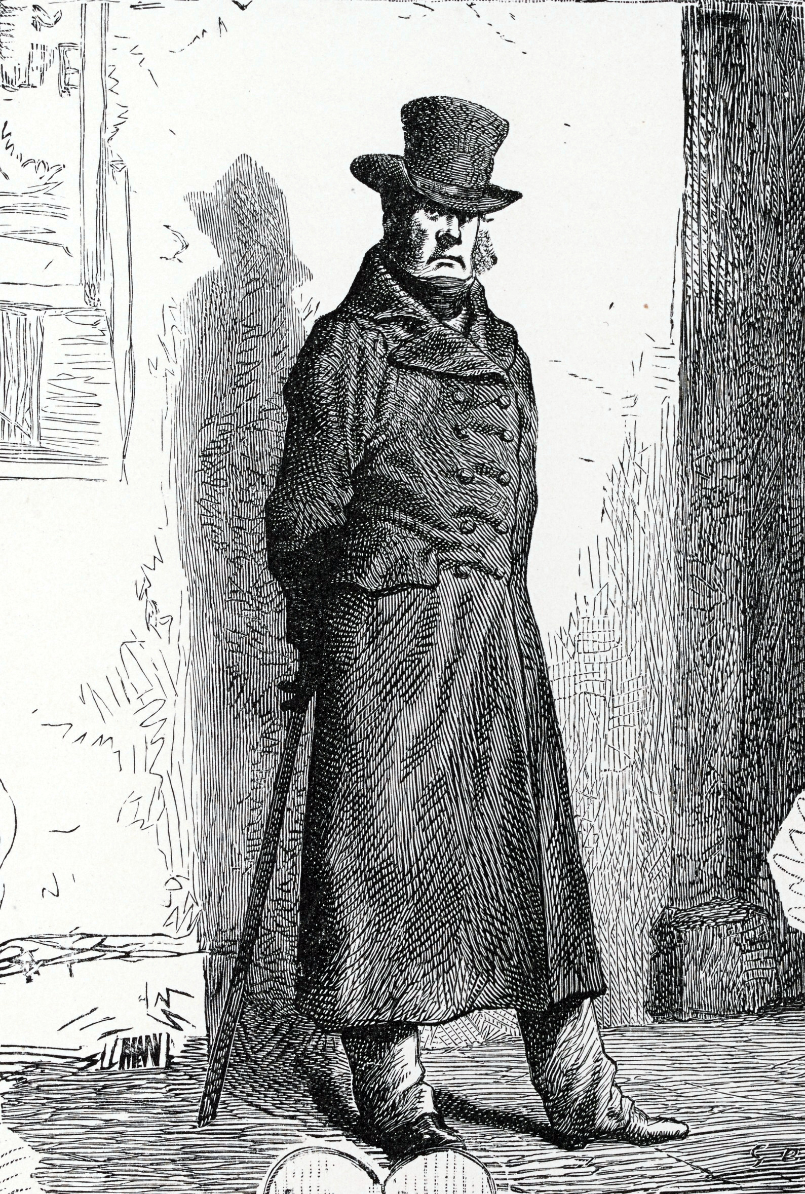 an analysis of the character of javert in the play les miserables by victor hugo