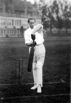 Bart King partnered Lester in a stand of 107 against Sussex in 1897 John Barton King.jpg