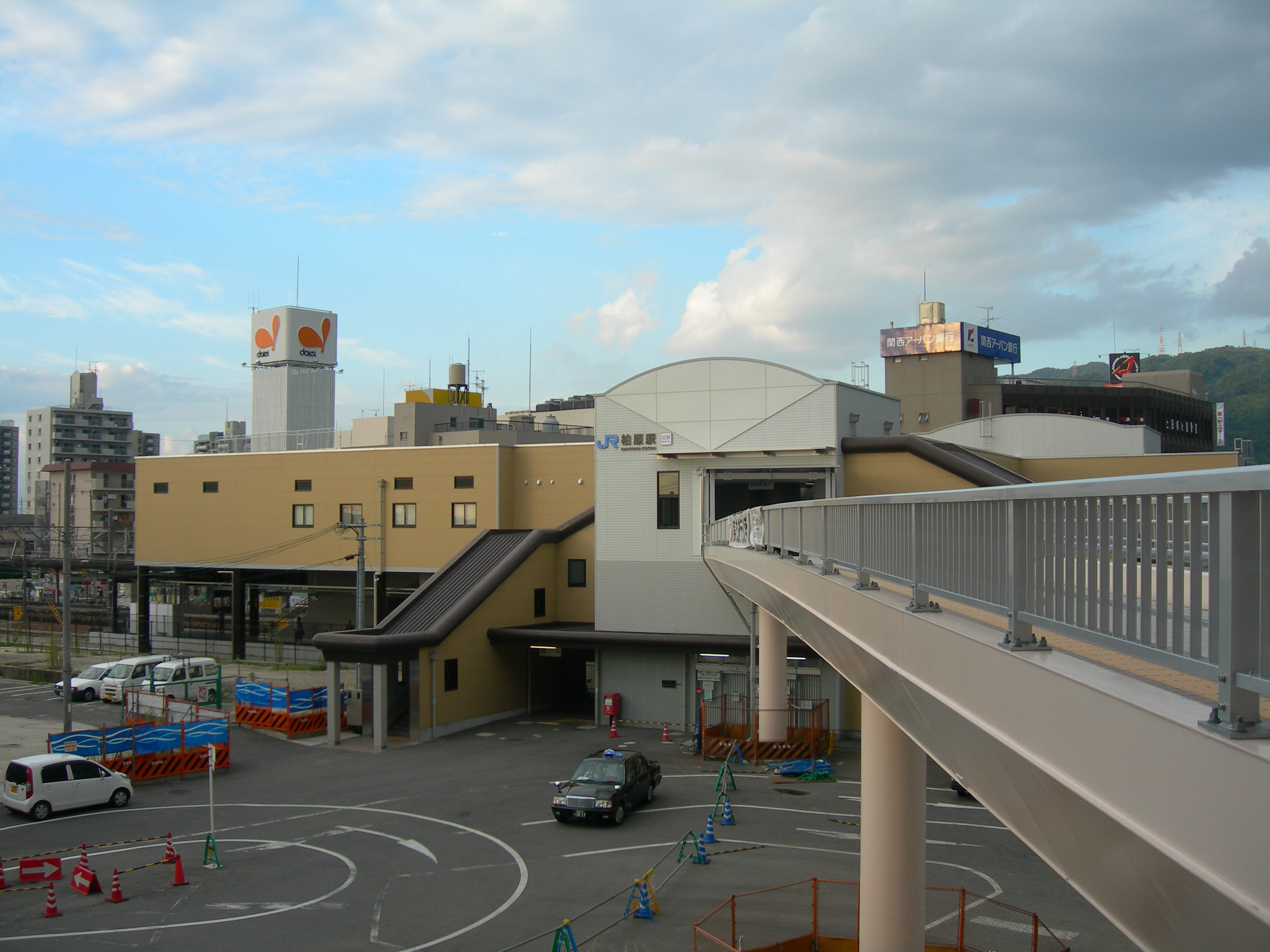 Kashiwara Station west.jpg