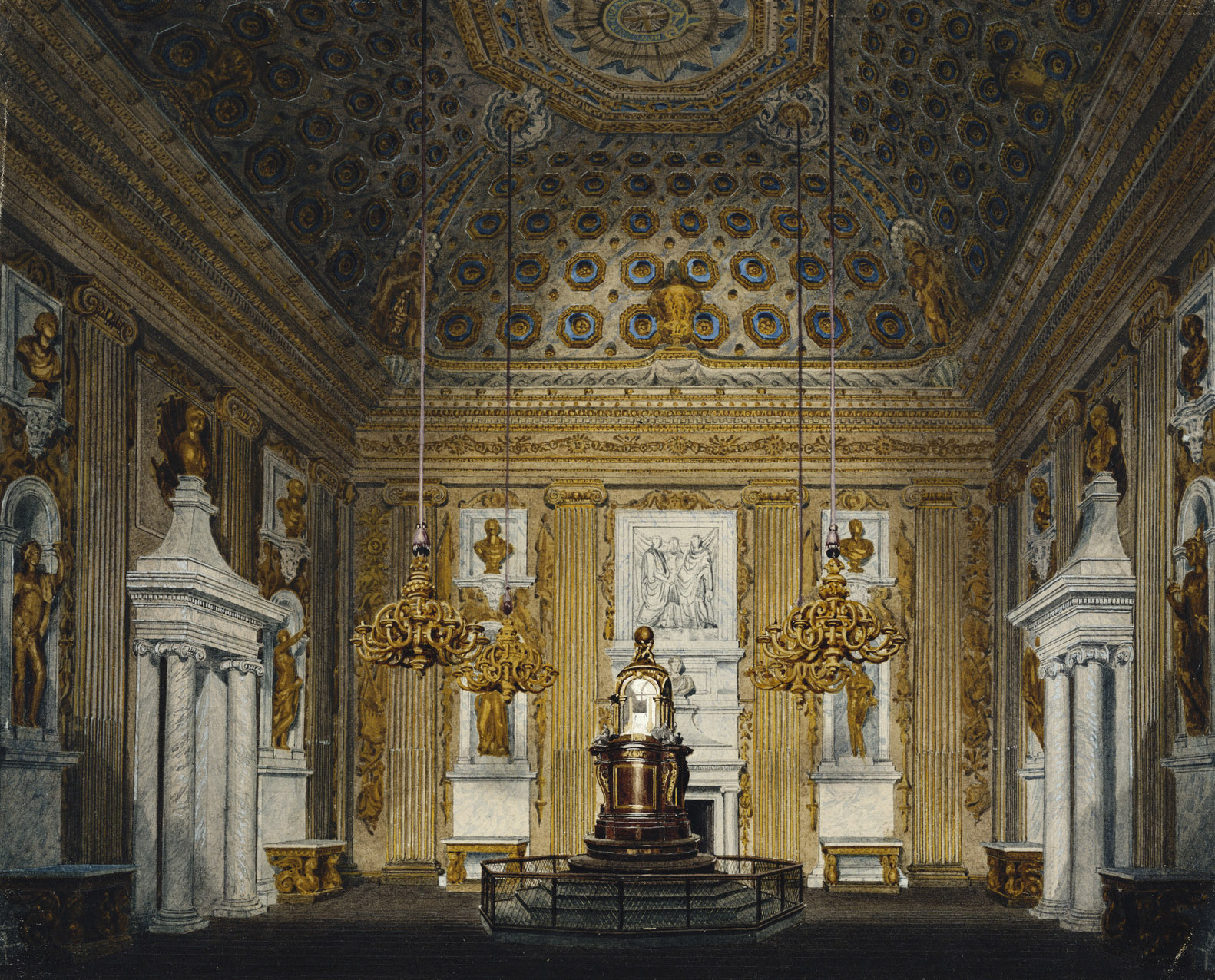 file kensington palace cupola room by richard cattermole