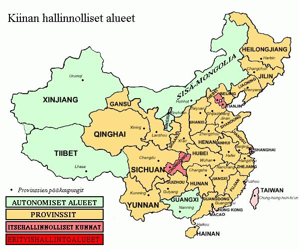 Kiinan Uskonnot