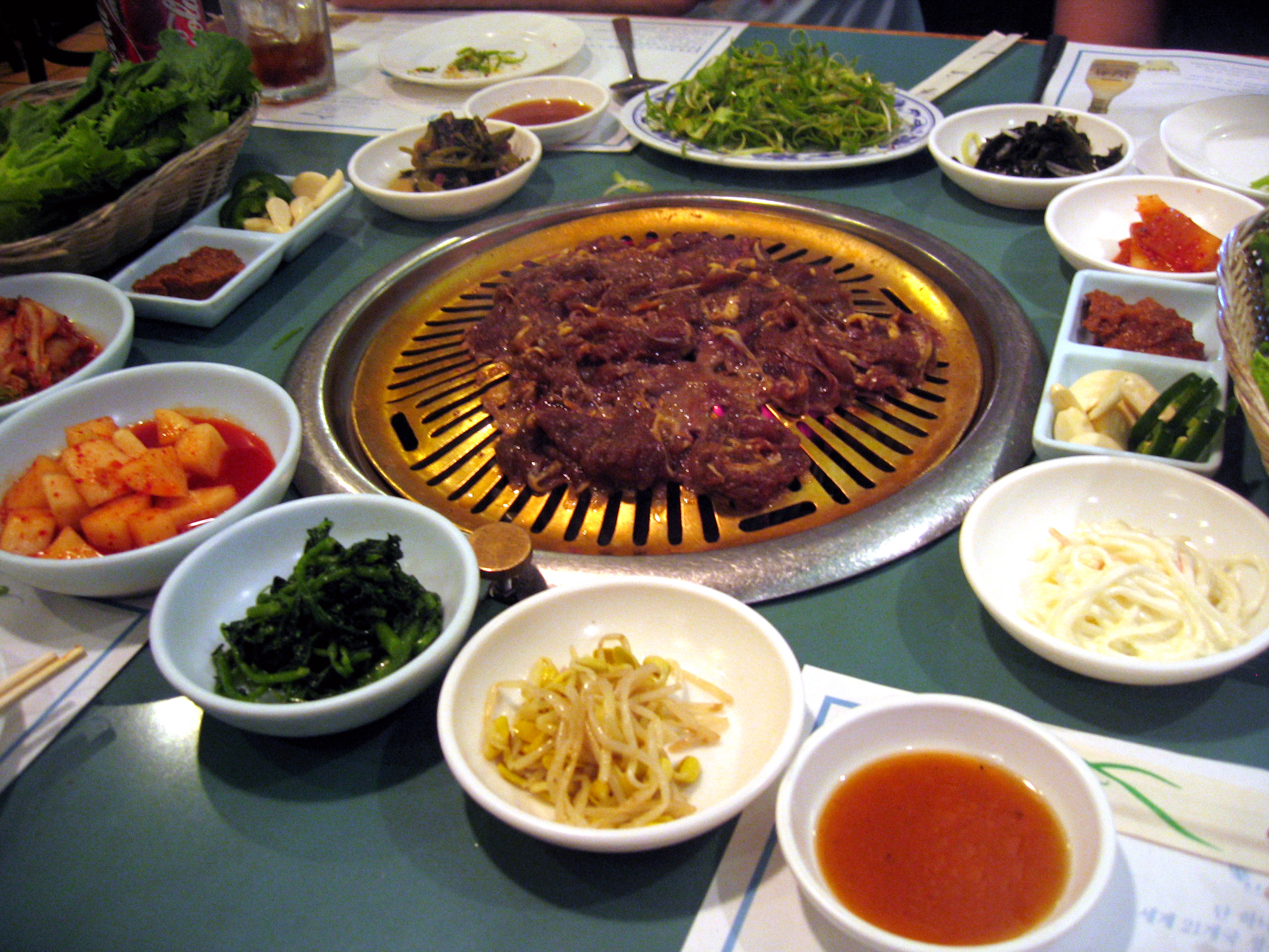 Korean bulgogi recipe dishmaps for Cuisine korean