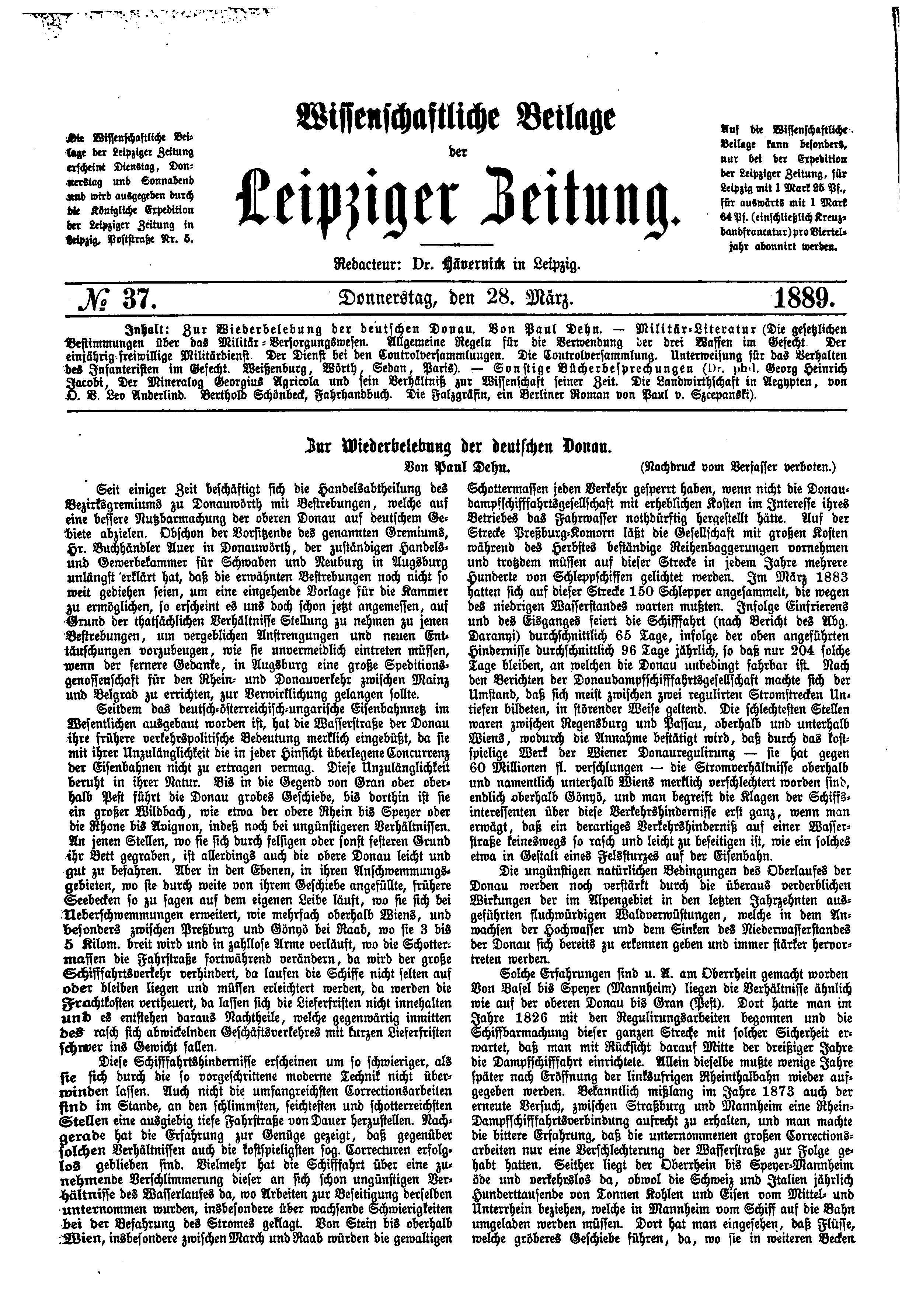 Leipzig Zeitung