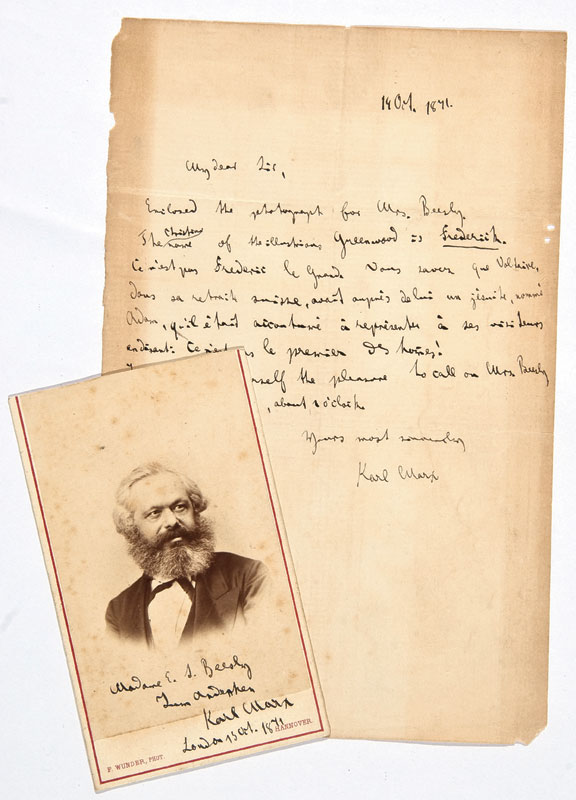 Letters of Karl Marx