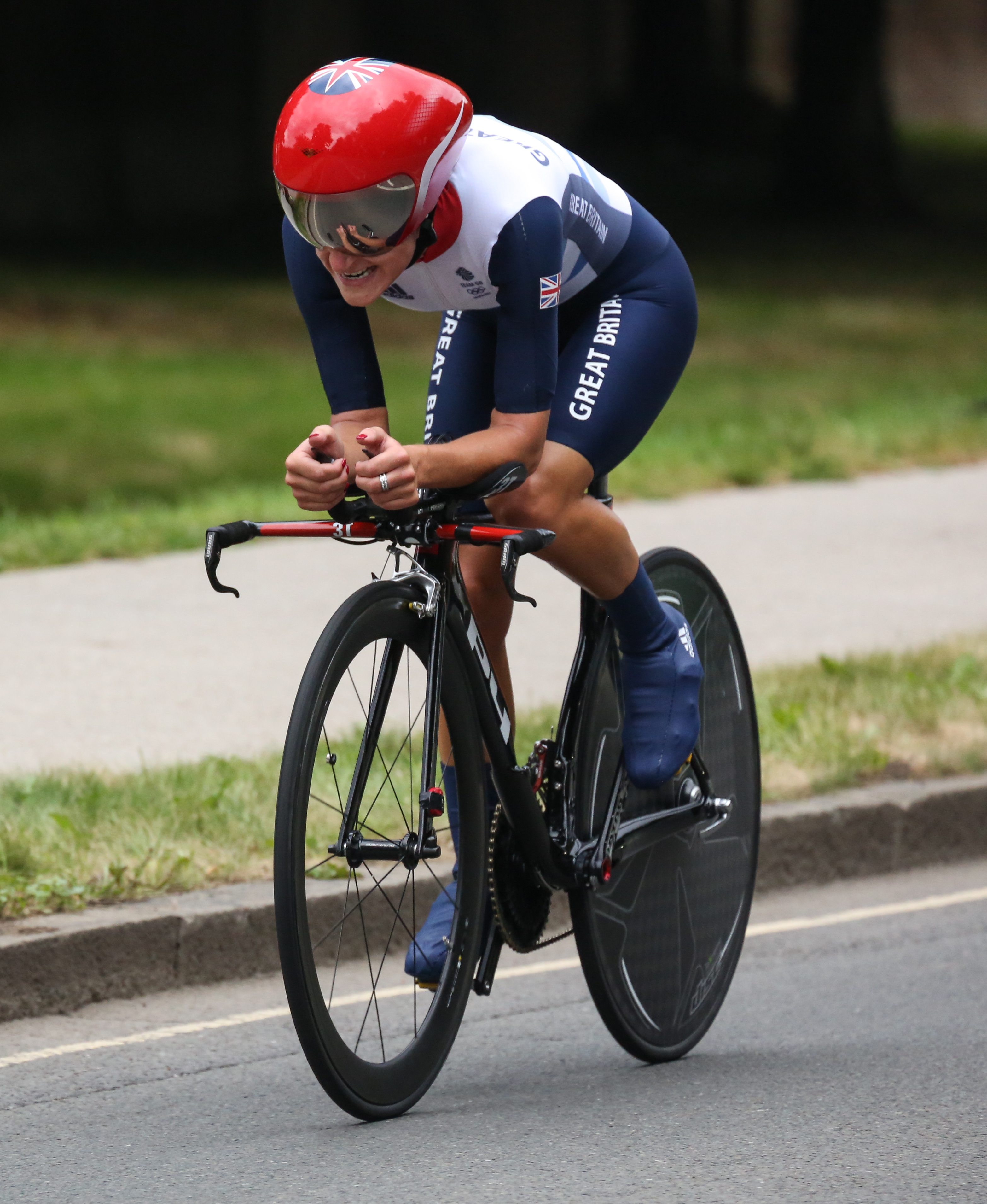 Lizzie Arimtstead - Olympic Cyclist