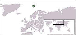 Position du Spitzberg dans le monde