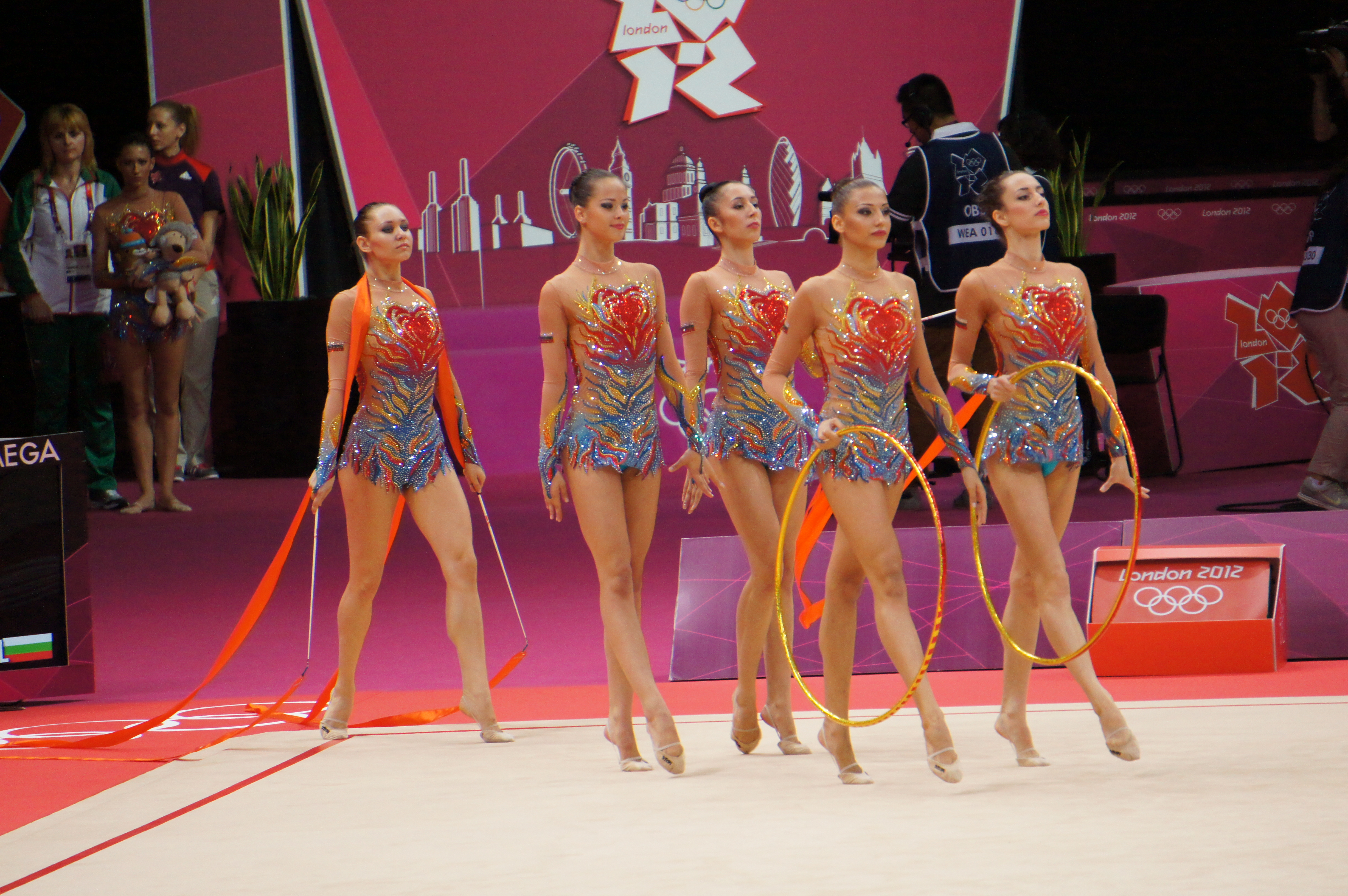 File:London 2012 Rhythmic Gymnastics - Bulgaria.jpg - Wikimedia ...