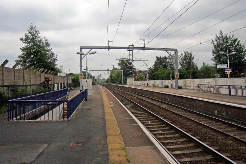 Patricroft rail station