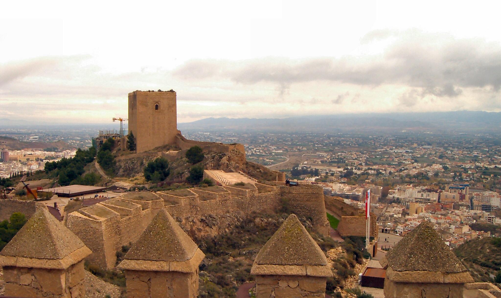 Lorca Castle, Murcia, Most Beautiful Castles in Spain