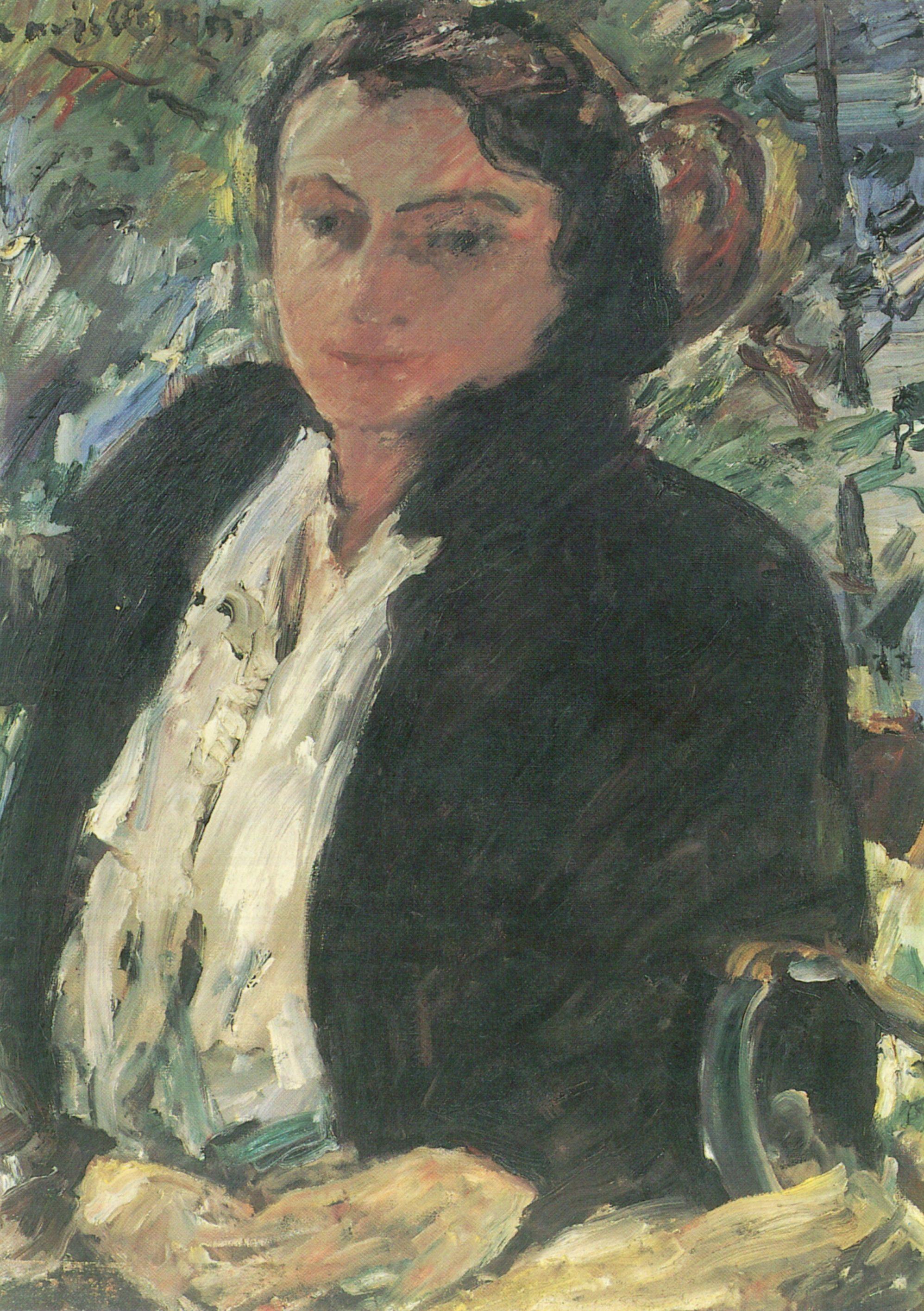 datei lovis corinth portrat charlotte corinth 1921 jpg