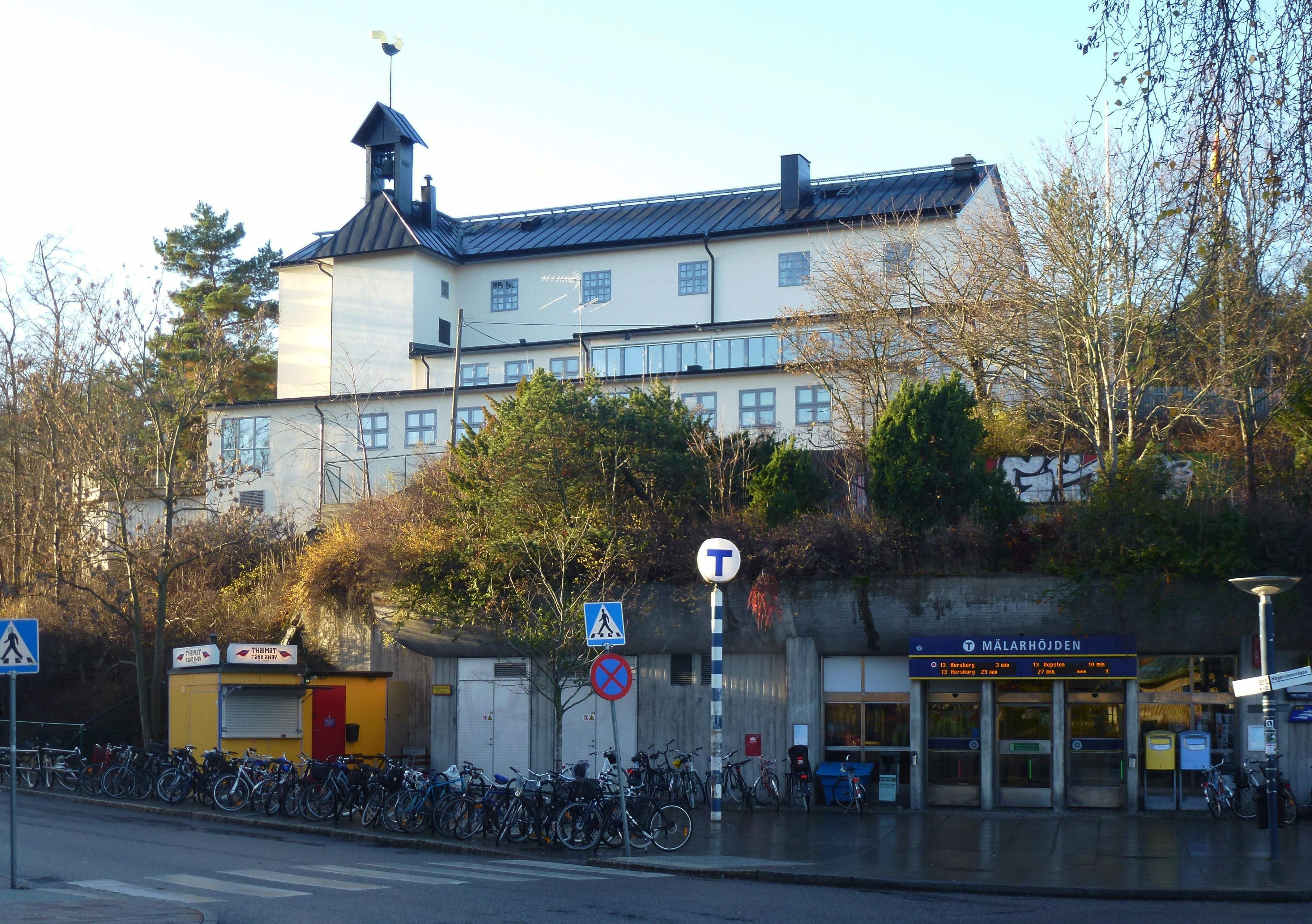 Bild av Mälarhöjdens kyrka