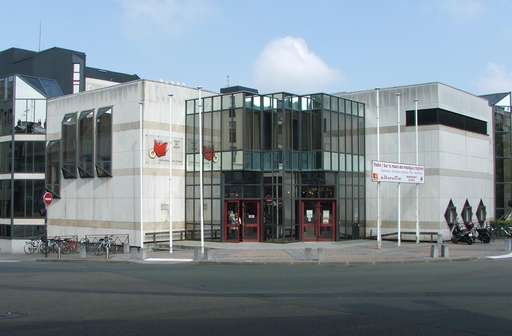 Bibliothèque De Fontenay Sous Bois médiathèque louis-aragon — wikipédia