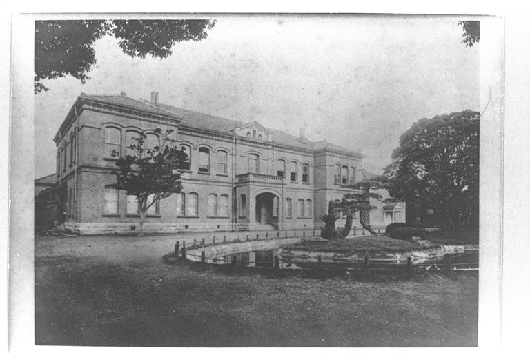 Main building of Keio University 1891