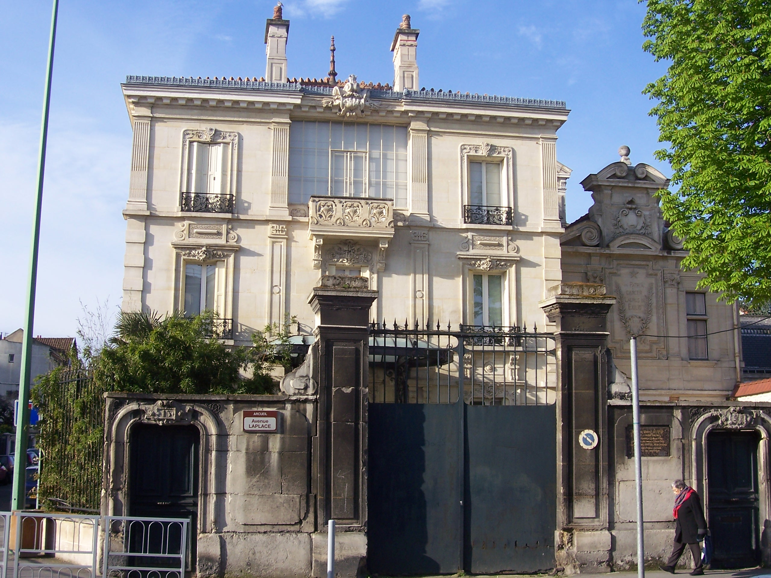 File maison de la famille raspail arcueil jpg for Arcueil cachan maison des examens