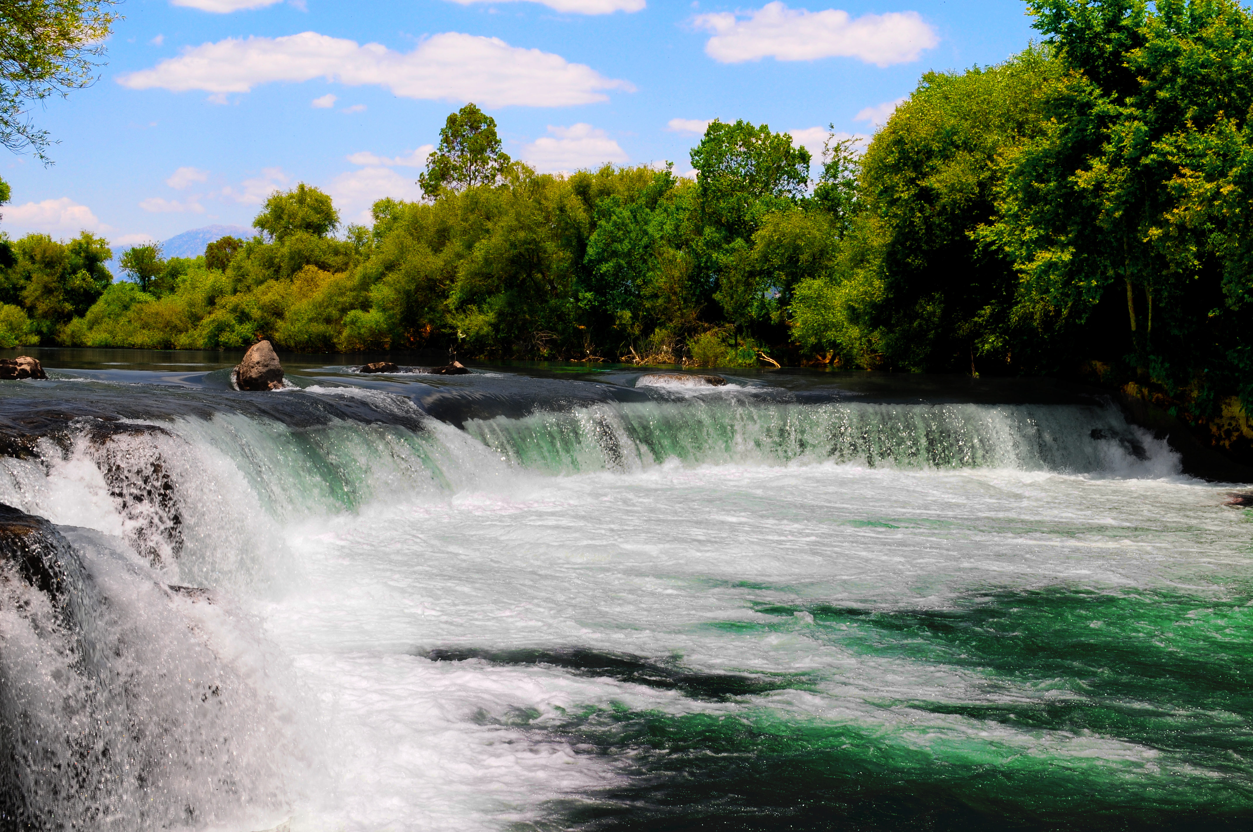 Famous Waterfalls File Manavgat Waterfall 1 Red Jpg Wikimedia Commons