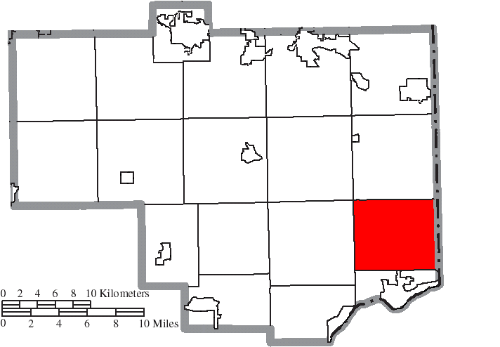 File Map Of Columbiana County Ohio Highlighting Saint Clair Township