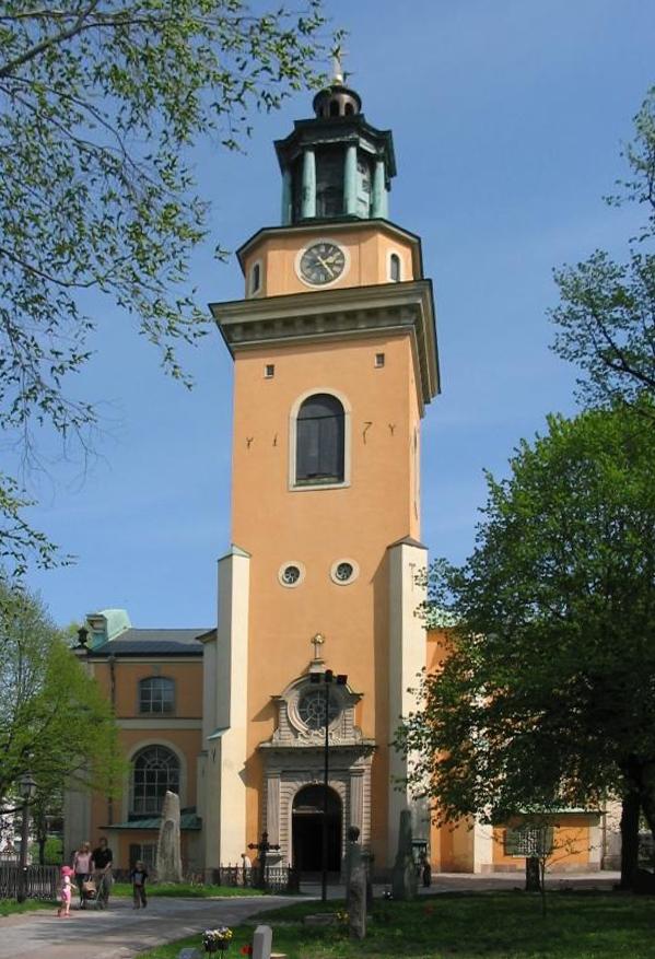Bild av Maria Magdalena kyrka