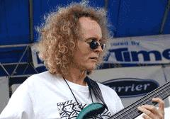 Pat Metheny Group bassist Mark Egan