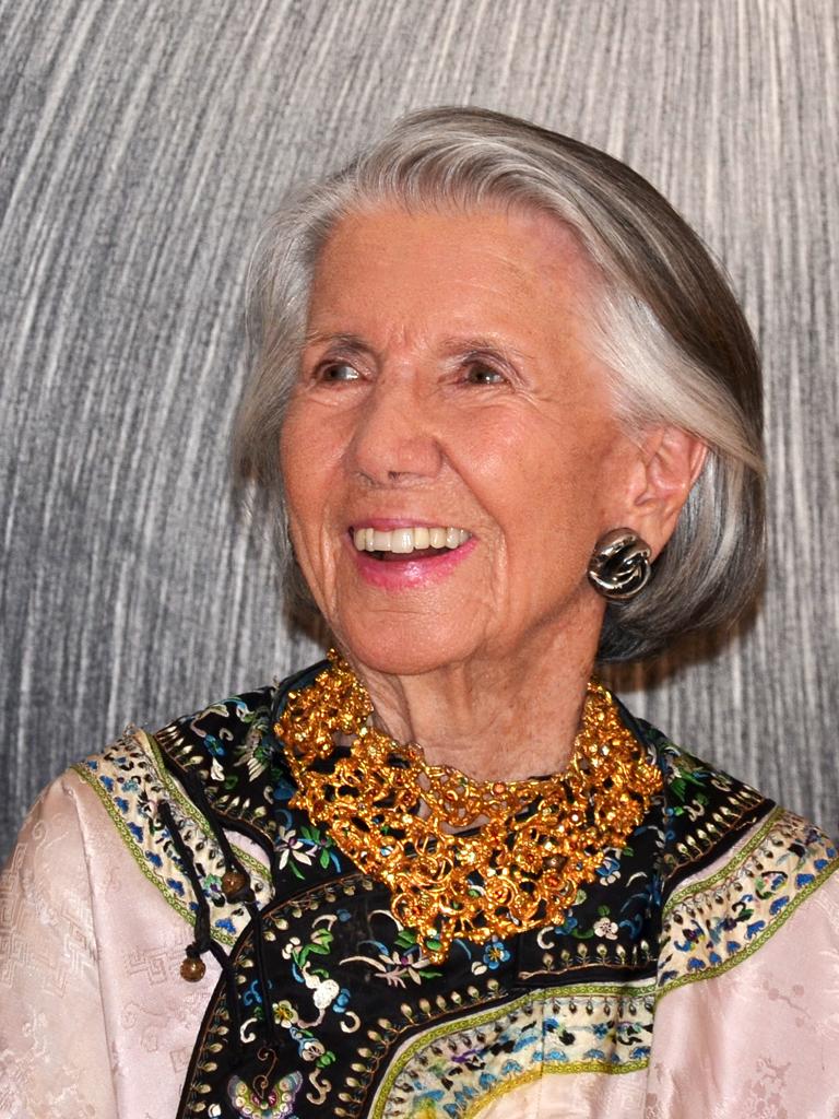 Meda Mládková, Sept. 8, 2014, 95th birthday
