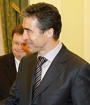 English: NATO Secretary General Anders Fogh Ra...