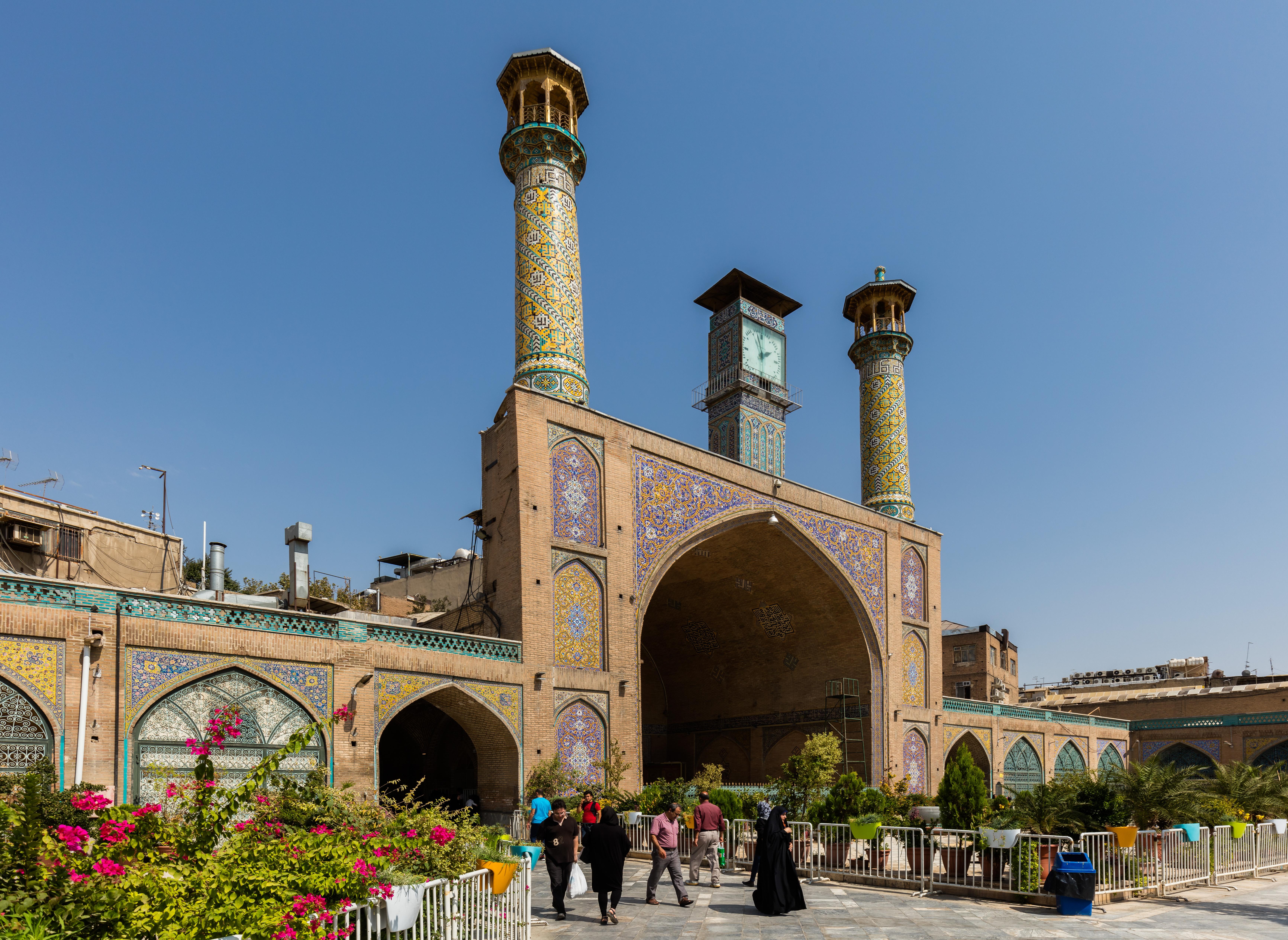 Shah Mosque (Tehran) - Wikipedia