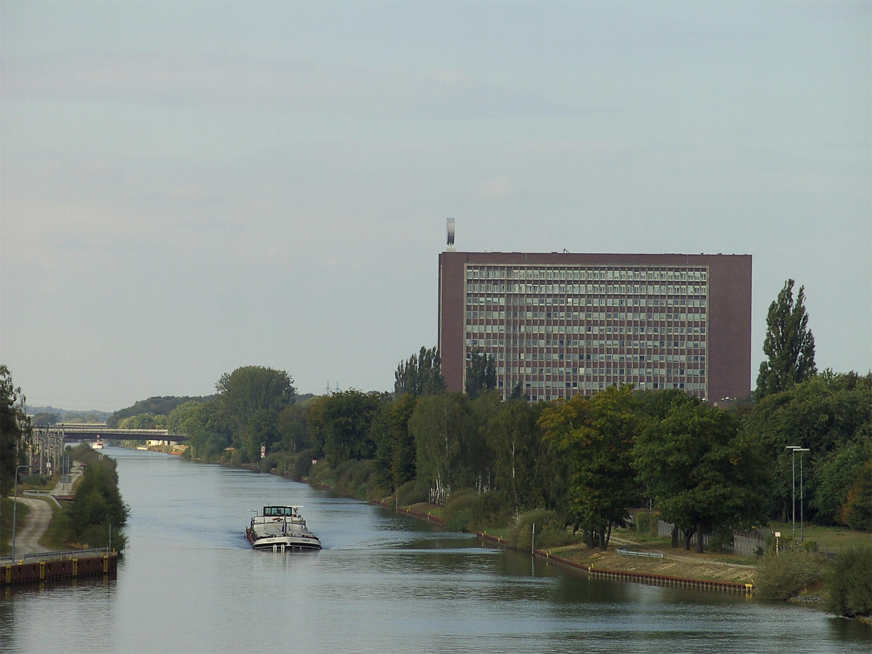 Mittellandkanal bei Wolfsburg - Quelle: WikiCommons