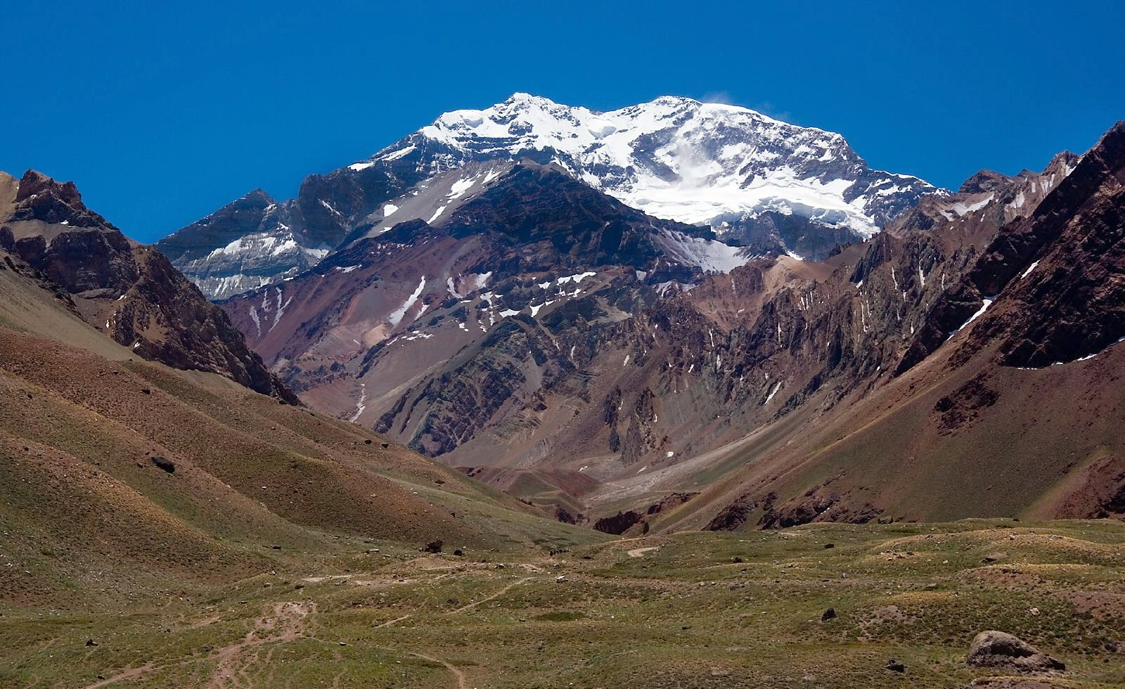 South America cruise Andes