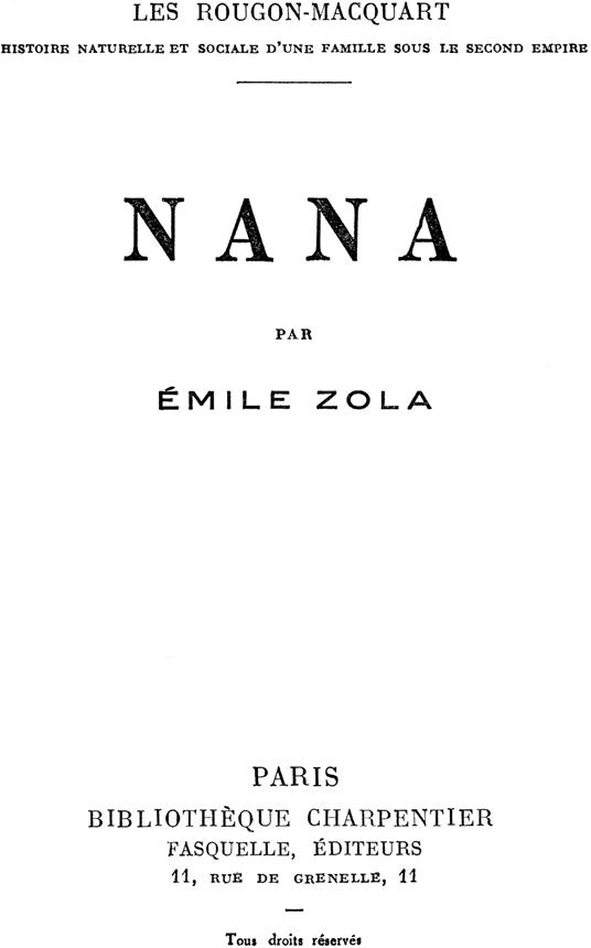 Nana (Zola) - Wikipedia, la enciclopedia libre