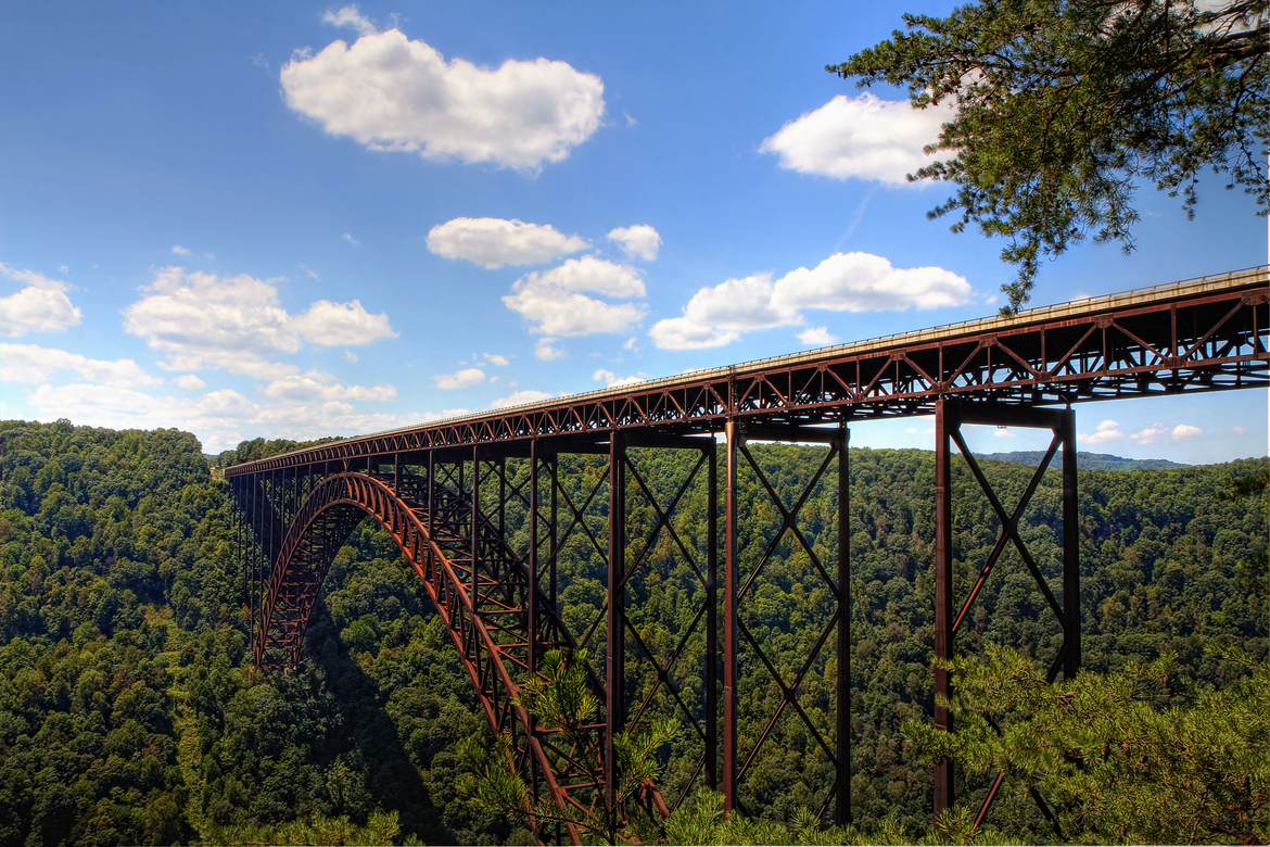 Description New River Gorge Bridge by Donnie Nunley jpgNew River Gorge Bridge Fall